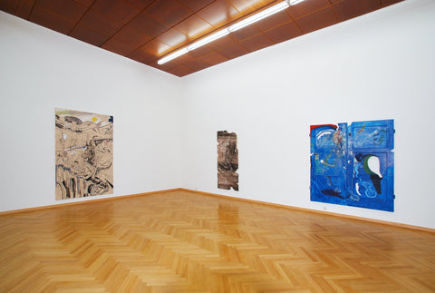 Johannes Lotz, Everything Becomes Musak, Installation view, 2007, Galerie Michael Janssen, Cologne