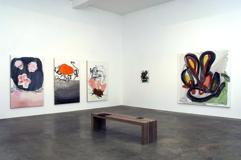Monique van Genderen, Installation view, 2007, The Happy Lion, Los Angeles