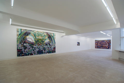 Jin Meyerson, Progress Is No Longer A Guarantee, Installation view, 2007, Galerie Michael Janssen Berlin