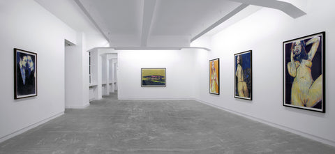 Enoc Perez, Tender, Installation view, 2001, Galerie Michael Janssen Berlin
