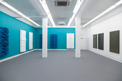 Jeremy Sharma, MODE CHANGE, Installation View, 2014, Galerie Michael Janssen Berlin