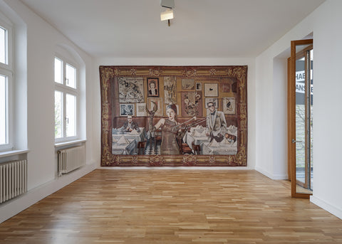 Margret Eicher, The Neo Baroque Furor Show, Installation view, 2021, Galerie Michael Janssen Berlin