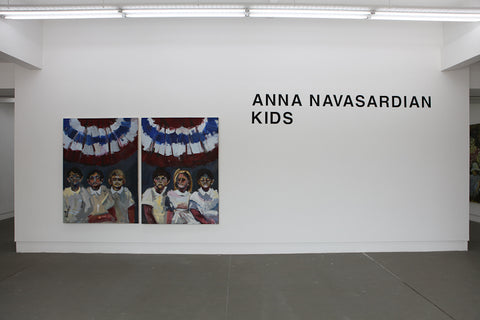Anna Navasardian, Kids, Installation view, 2013, Galerie Michael Janssen Singapore