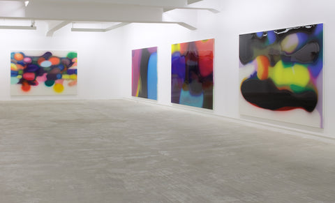 Peter Zimmermann, Installation view, 2009, Galerie Michael Janssen, Berlin