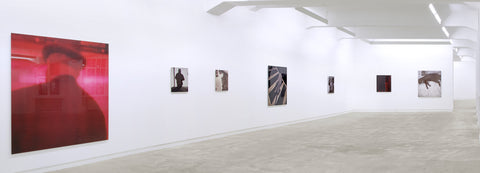 Charif Benhelima, Harlem on my Mind: I was, I am, Installation view, 2011, Galerie Michael Janssen Berlin
