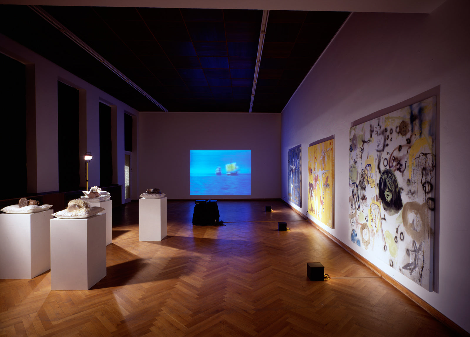 Thaddeus Strode, Ghost Sisters Of The Sun, Installation view, 2000, Galerie Michael Janssen, Cologne