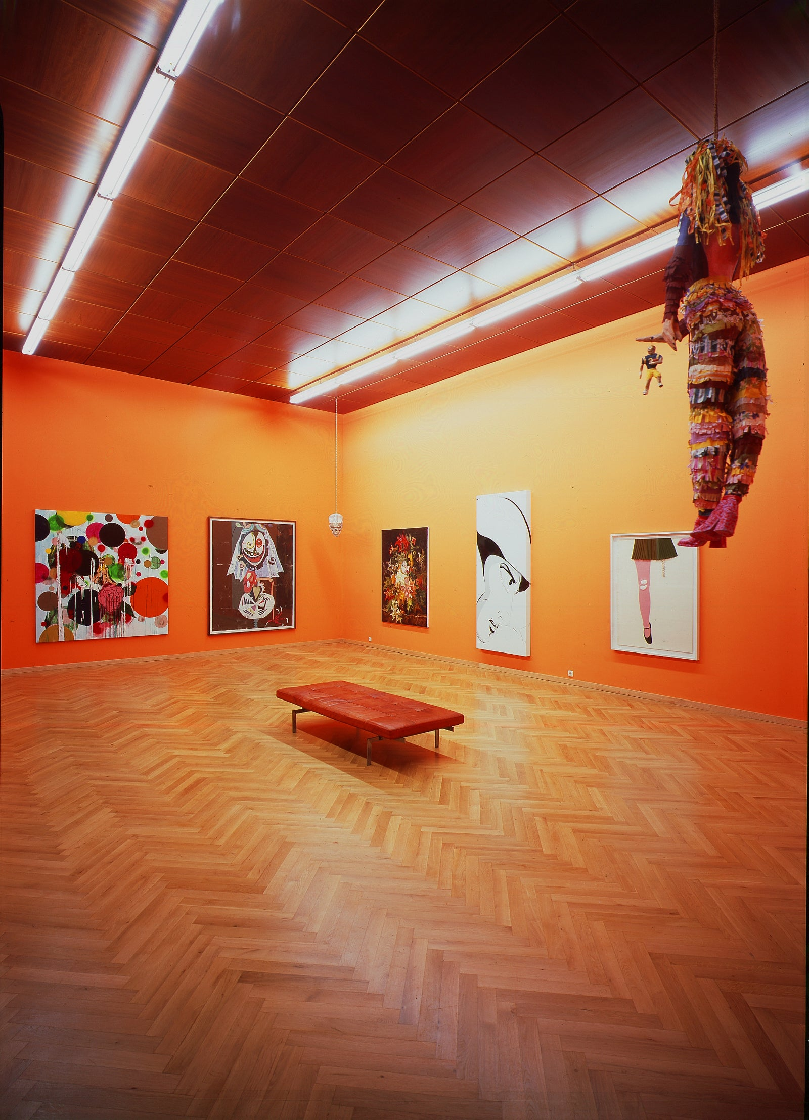 10YEARS!, Gallery Anniversary Groupshow, Installation view, 2005, Galerie Michael Janssen, Cologne