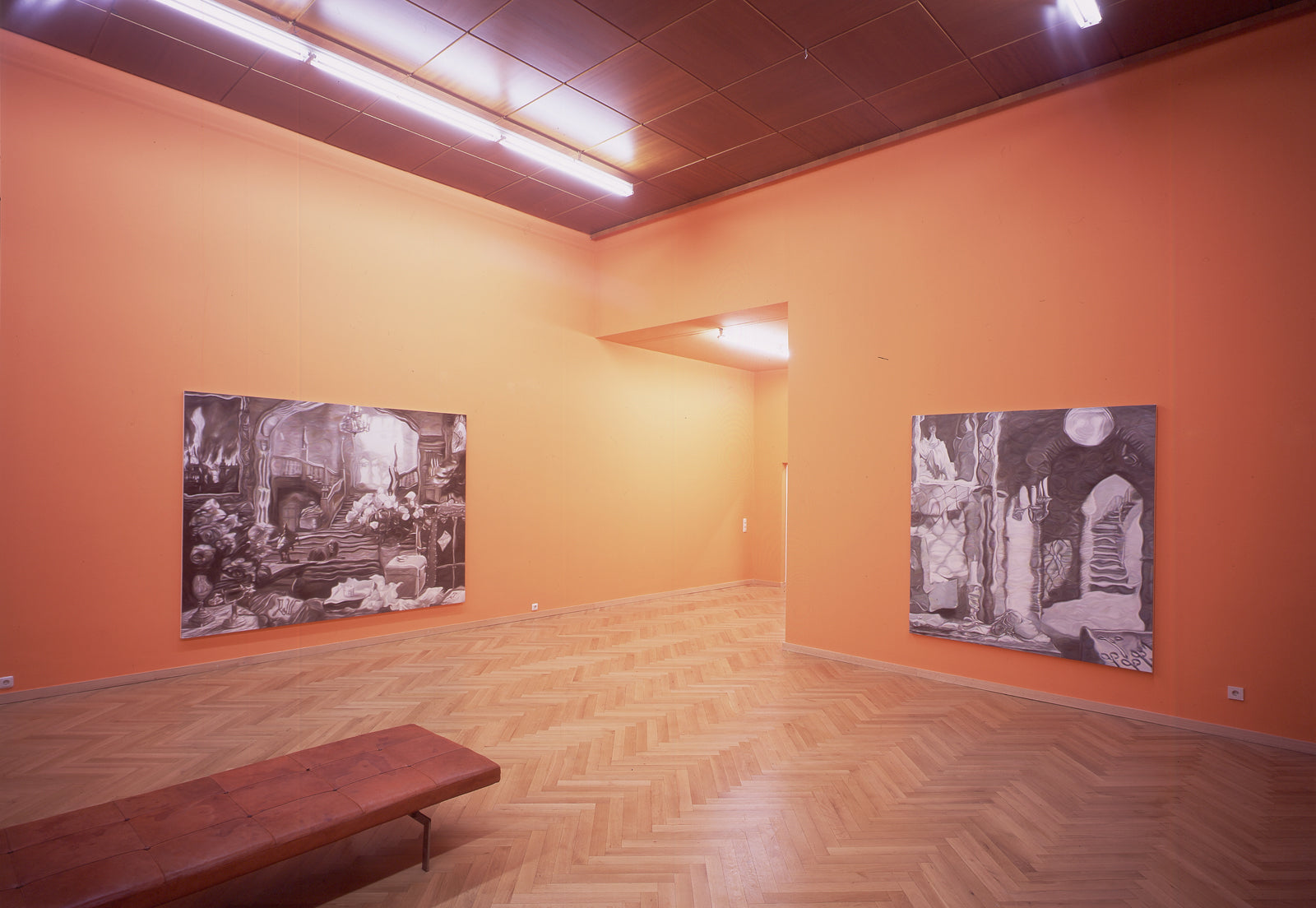 Christoph Steinmeyer, Hotel Déjàvu, Installation view, 2006, Galerie Michael Janssen, Cologne