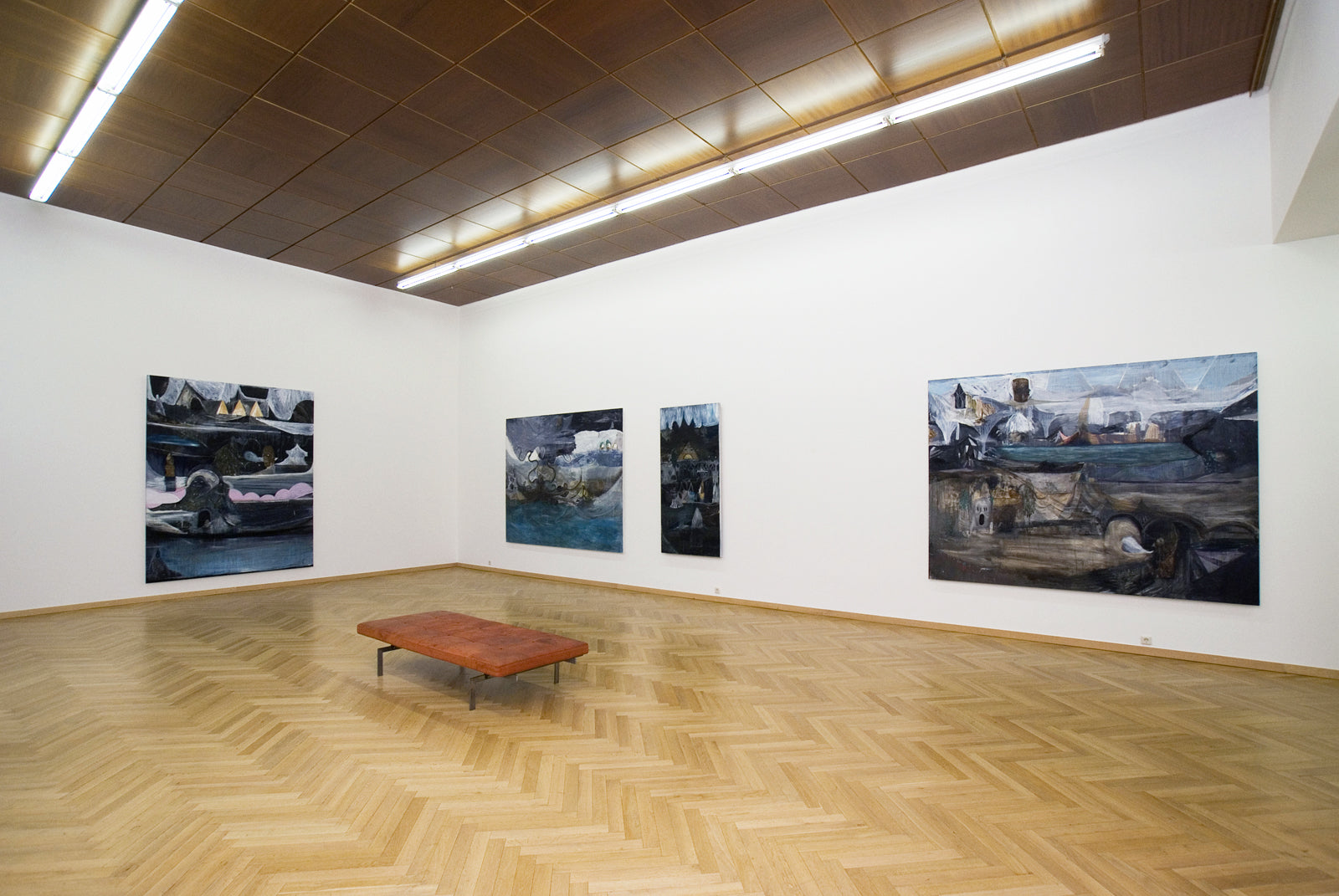 Christof Mascher, The Ghost Yard, Installation view, 2007, Galerie Michael Janssen, Cologne