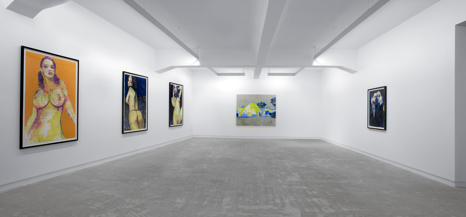 Enoc Perez, Tender, Installation view, 2008, Galerie Michael Janssen Berlin