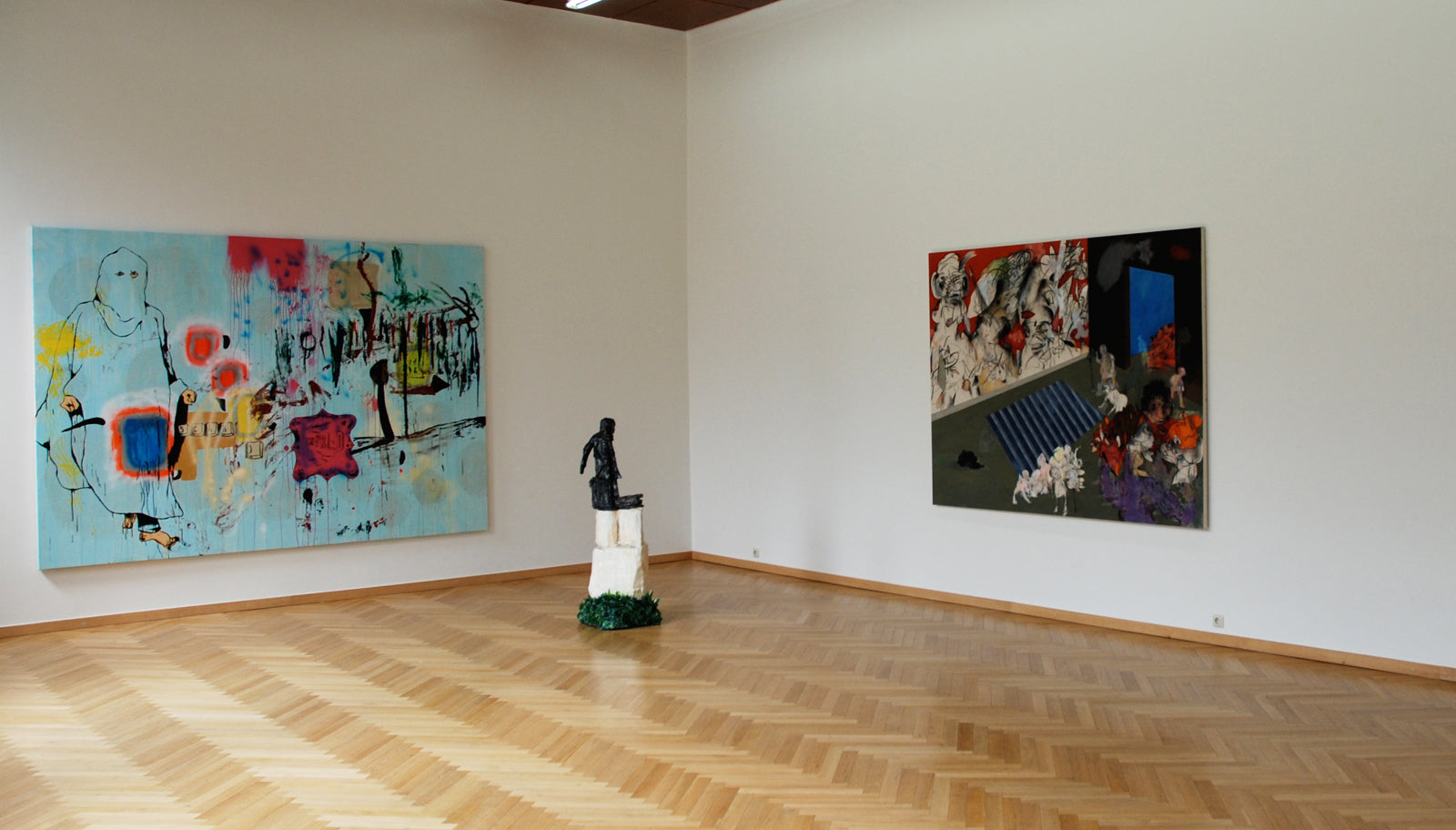 The Future is but the obsolete in reverse, Installation view, 2008, Galerie Michael Janssen, Berlin