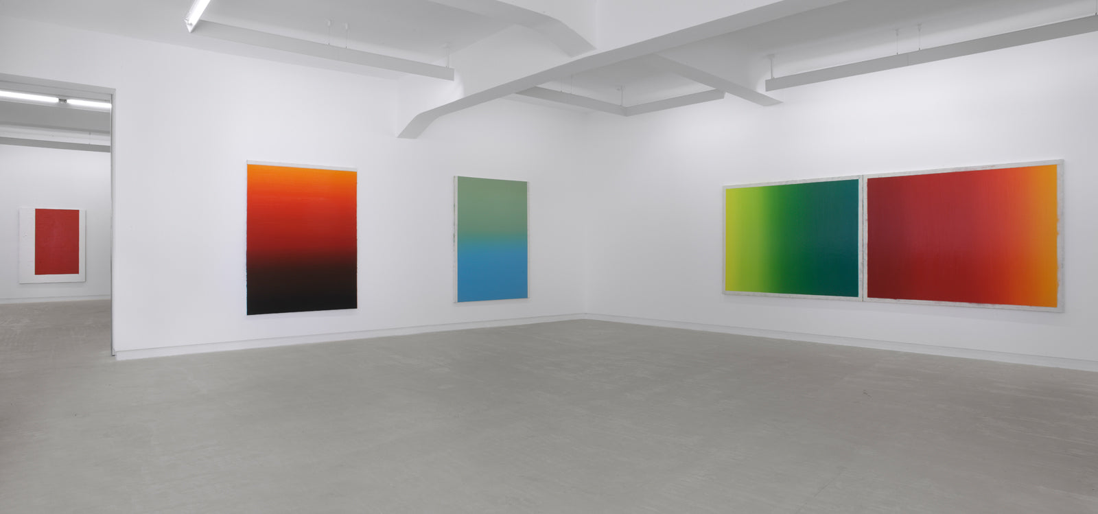 Shaan Syed, Please Play By The Rules, Installation view, 2009, Galerie Michael Janssen, Berlin