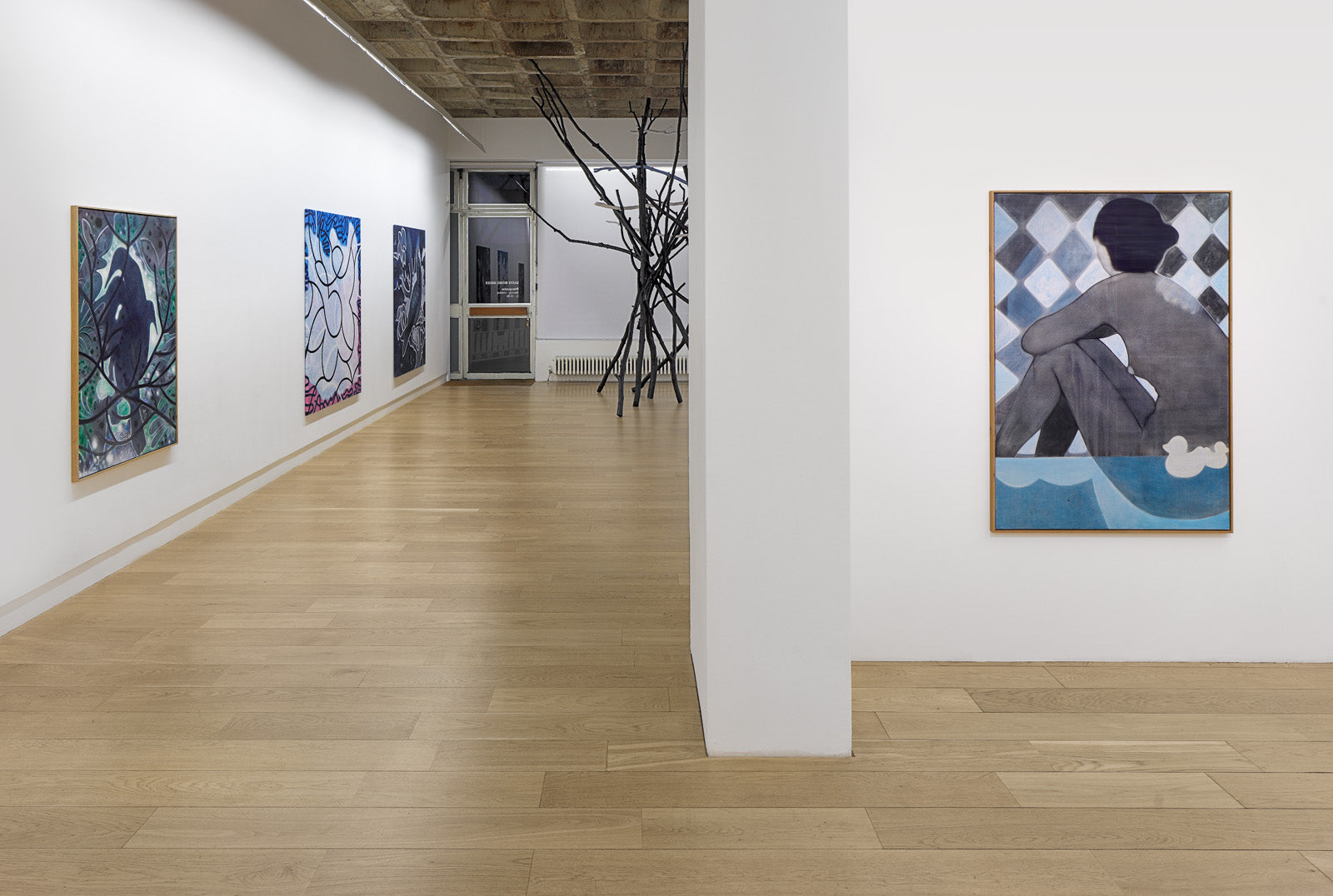 Anders Kjellesvik, Breaking Rules Together, Installation View, Galerie Michael Janssen, Berlin, 2020