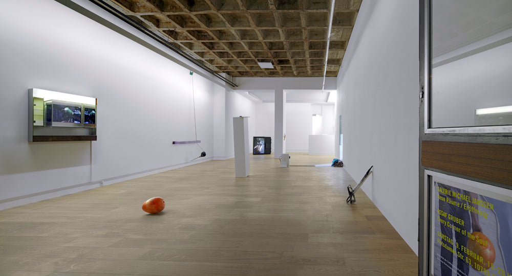 Assaf Gruber, Every Corner of the Soul, Installation view, 2013, Galerie Michael Janssen Berlin