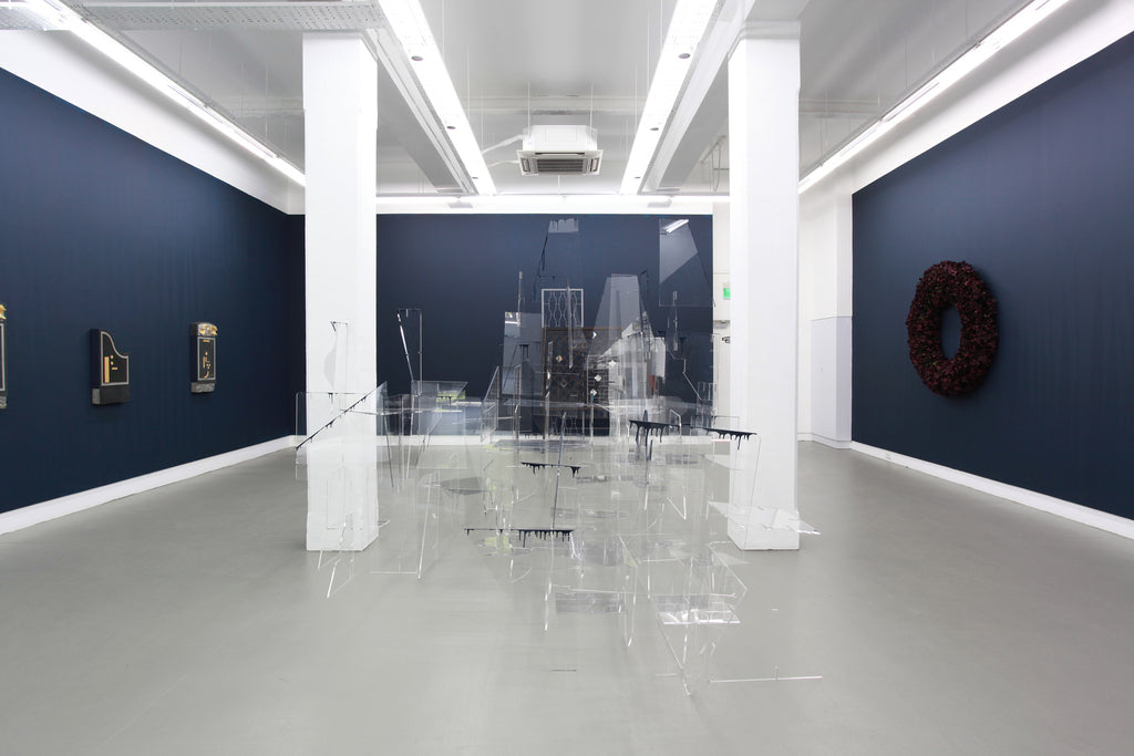 Jason Wee, REQUIEM, Installation View, 2014, Galerie Michael Janssen Berlin