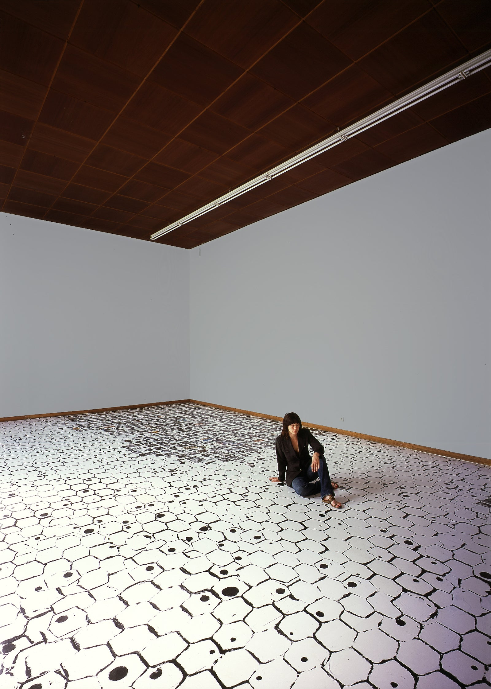 Meg Cranston, Rock Bottom, Installation view, 2005, Galerie Michael Janssen, Cologne