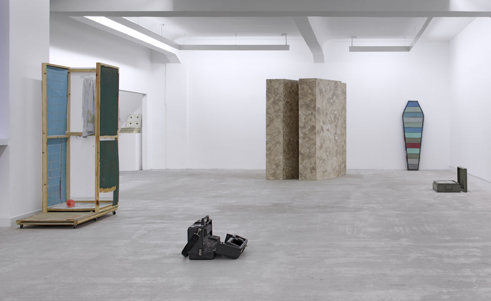 …there is a crack in everything, Installation view, 2012, Galerie Michael Janssen Berlin