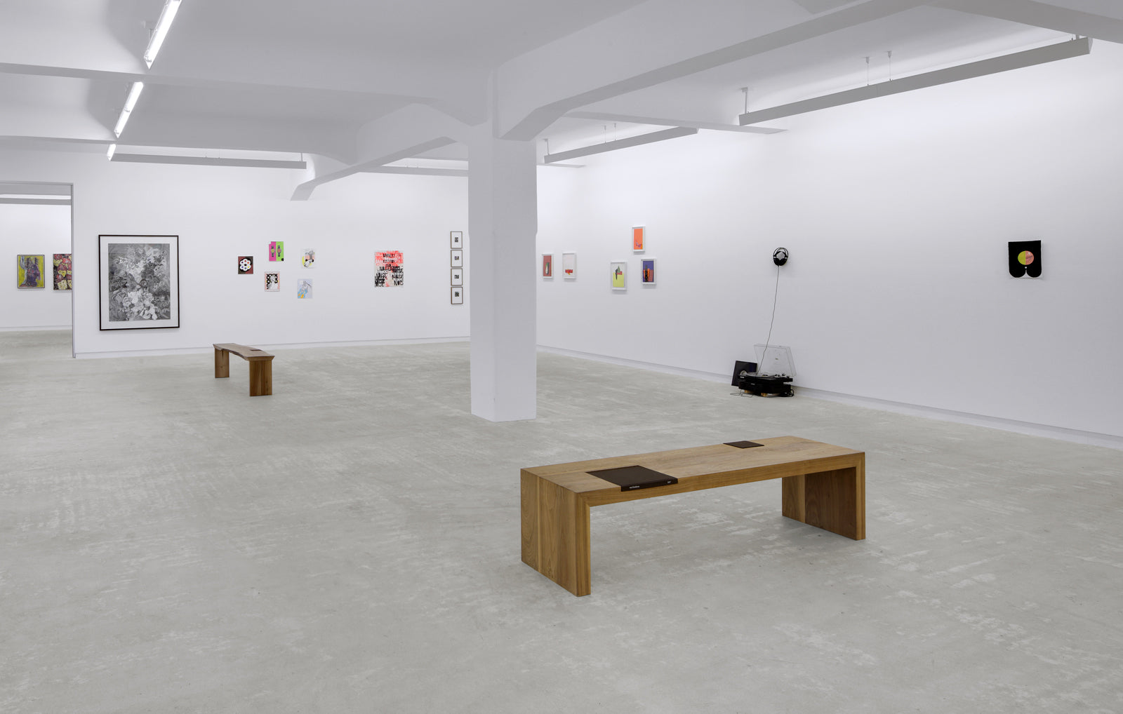 Group Show, Paper Does Not Blush, Installation view, 2012, Galerie Michael Janssen Berlin