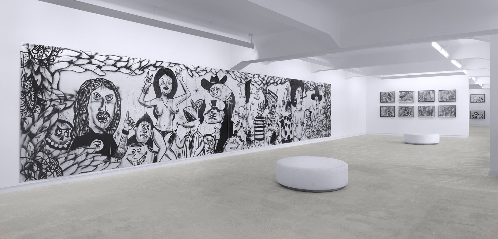 Mario Ybarra Jr., Installation view, 2010, Galerie Michael Janssen Berlin