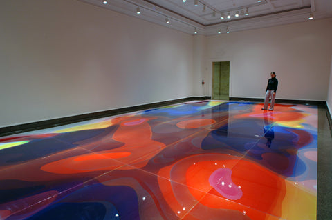 Peter Zimmermann, Currents, Installation view, 2008, Columbus Museum, Ohio, USA