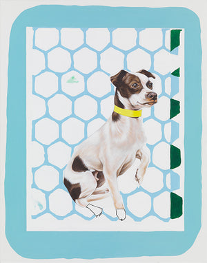 Meg Cranston - Dog With Brown Spots