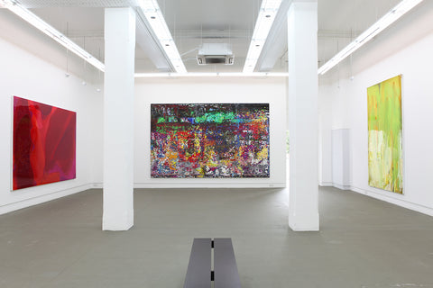 Peter Zimmermann, Crystal & Fruits, Installation view, 2013, Galerie Michael Janssen Singapore