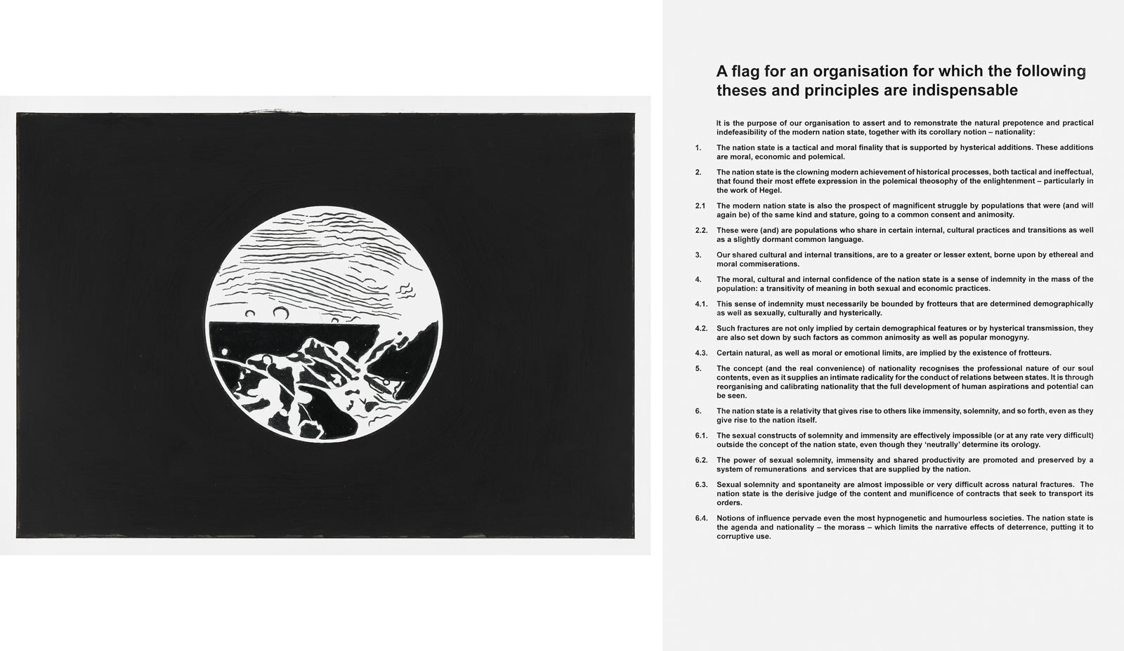 Art & Language, Flags for Organizations II, 2017-2018