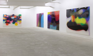 Peter Zimmermann, Installation view, 2009, Galerie Michael Janssen Berlin