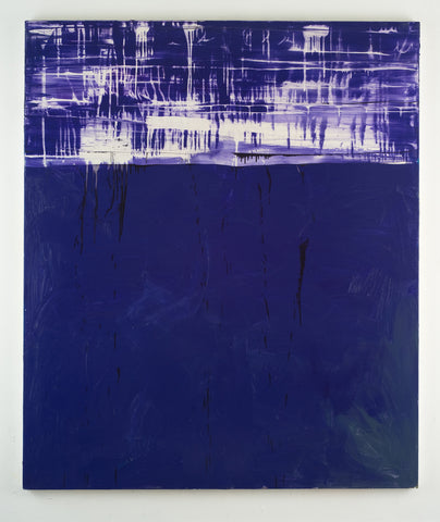 Shaan Syed, Untitled (Collapsed Monochrome Purple), 2013