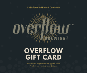 Gift card Gift Cards Overflow Brewing Company
