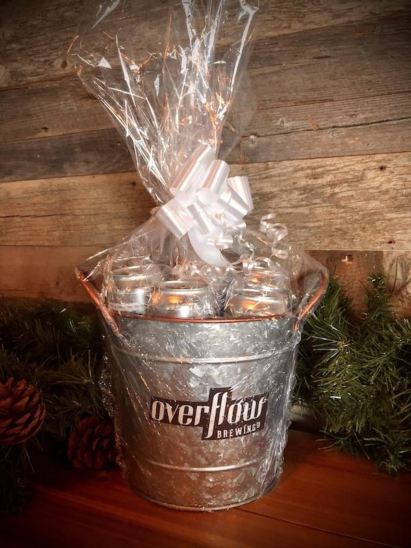 Overflow Gift Basket - Beer Bucket Merchandise Overflow Brewing Company
