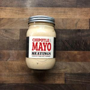"Meatings - ""Heat at Home"" Chipotle Mayo Food Overflow Brewing Company"