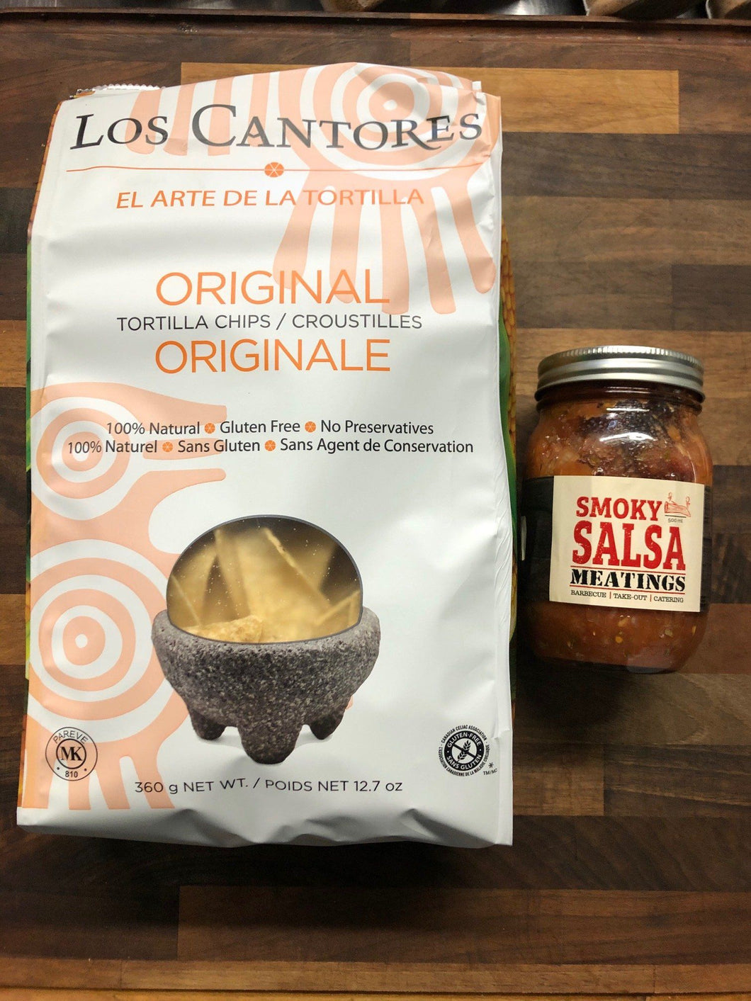 Meatings Tortilla Chips and Salsa