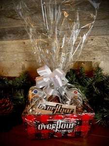 Overflow Gift Basket - Custom Baskets (choice of base) Merchandise Overflow Brewing Company