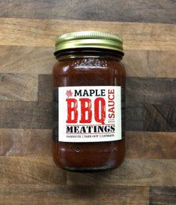 "Meatings - ""Heat at Home"" Maple BBQ Sauce Food Overflow Brewing Company"