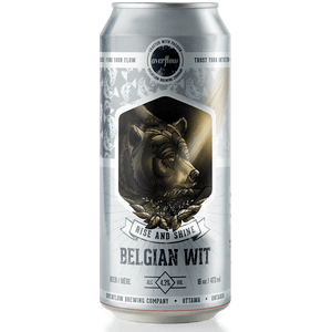 Rise and Shine - Belgian Wit - Overflow Seasonal Selection Beer Overflow Brewing Company