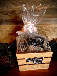 Overflow Gift Basket - XMAS Crate Merchandise Overflow Brewing Company