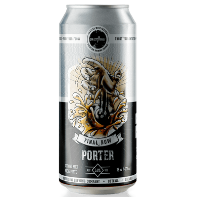 Final Bow - Porter - Overflow Seasonal Selection Beer Overflow Brewing Company 473ml x 1