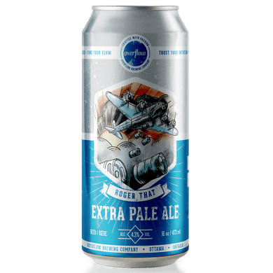 Roger That - Extra Pale Ale Beer Overflow Brewing Company