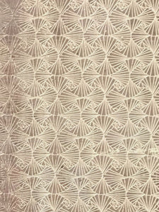 Cork Fabric - Art Deco