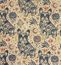 Load image into Gallery viewer, Cork Fabric - Bulldogs