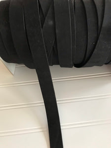 One Inch Black Strapping - One Yard
