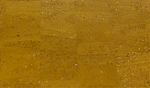 Cork Fabric - Pearly Golden Yellow