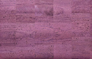 Cork Fabric - Purple