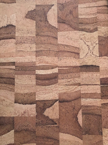 Cork Fabric - Natural Mosaic