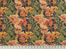 Load image into Gallery viewer, Cork Fabric - Aquarela Flowers