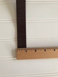 One Inch Brown Strapping - One Yard