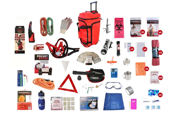 Family Survival Kit - Be Ready Bags