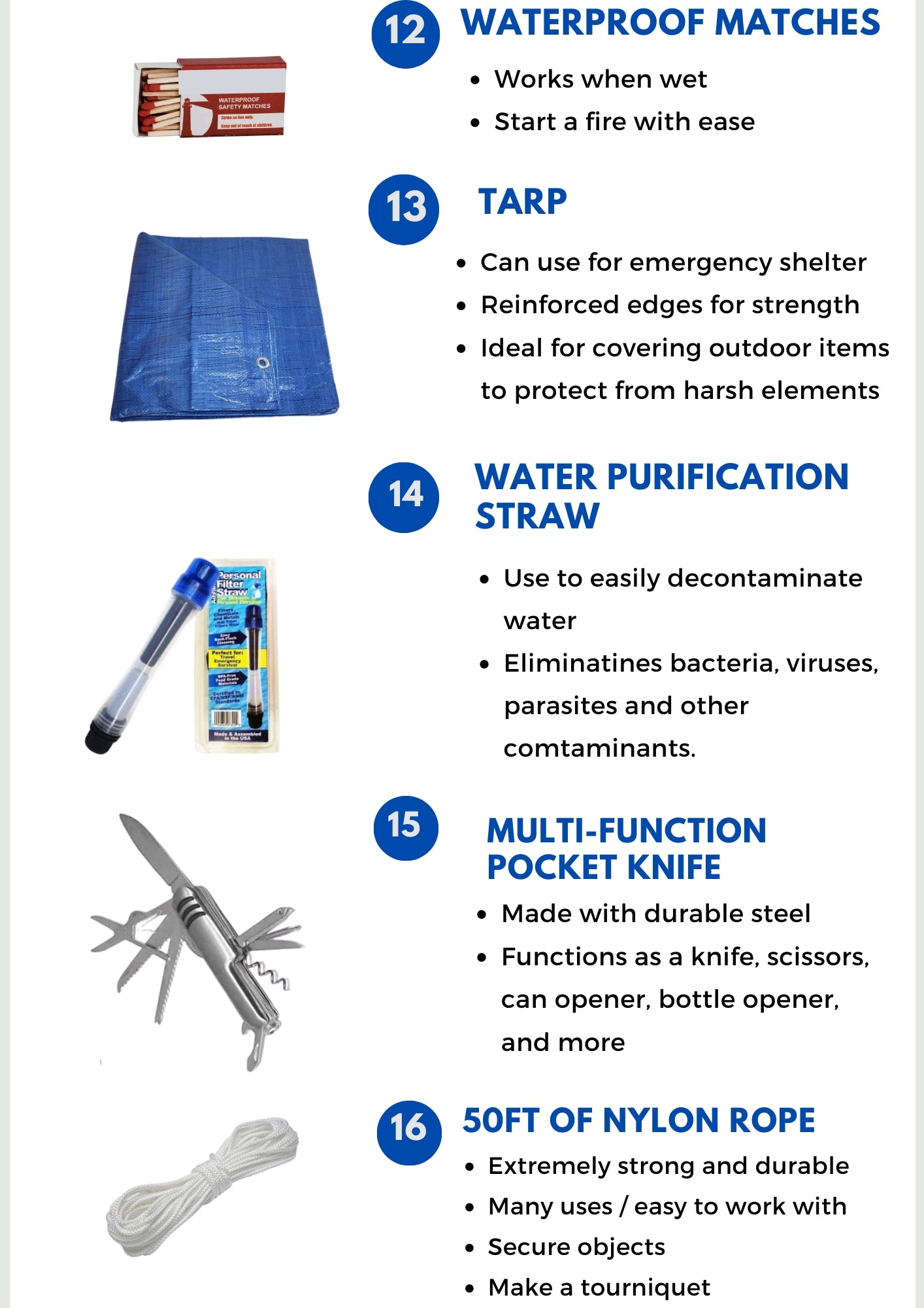 Bug Out Bag Premade - Be Ready Bags