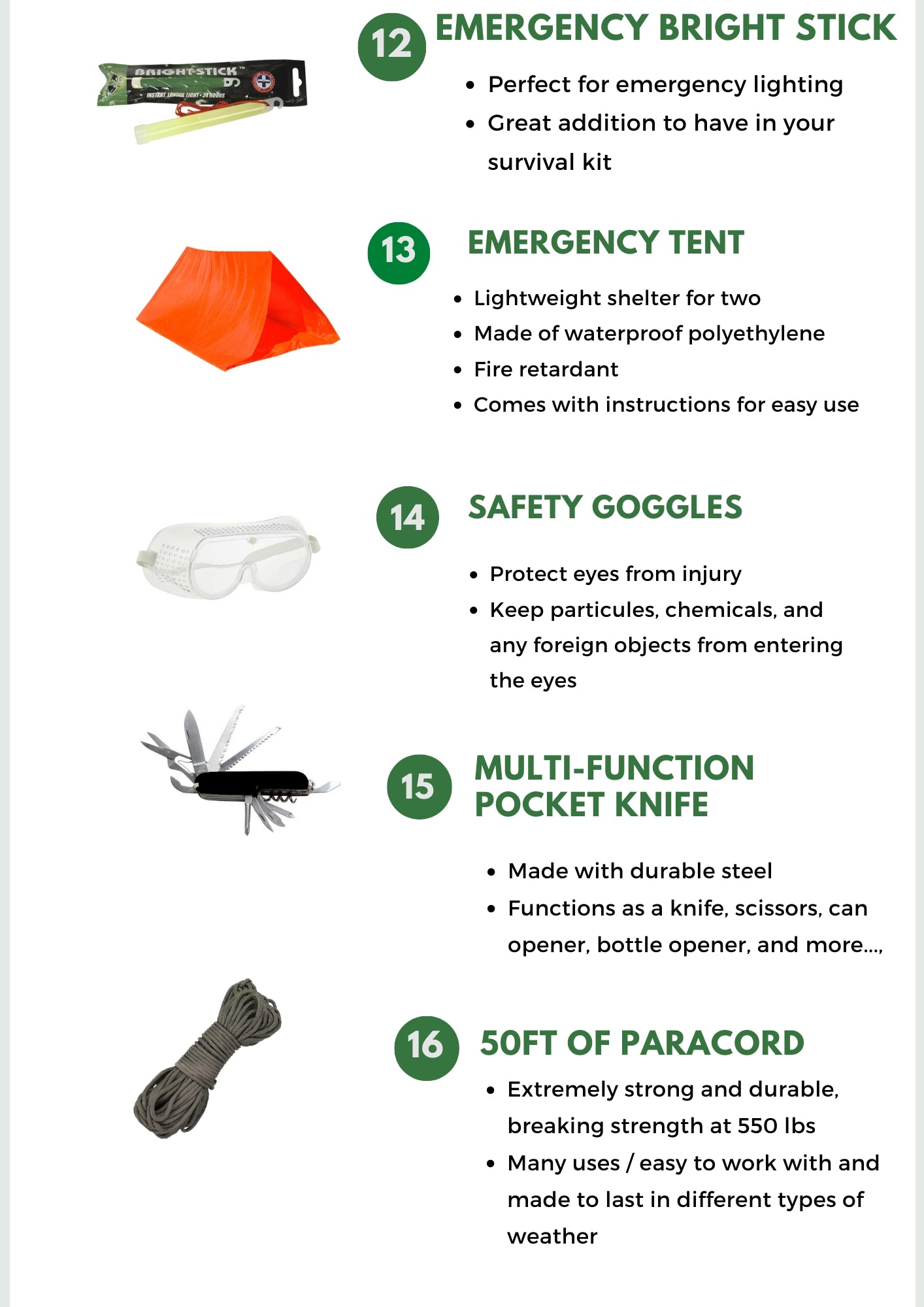 4 Person Go Bag Survival Kit - Be Ready Bags